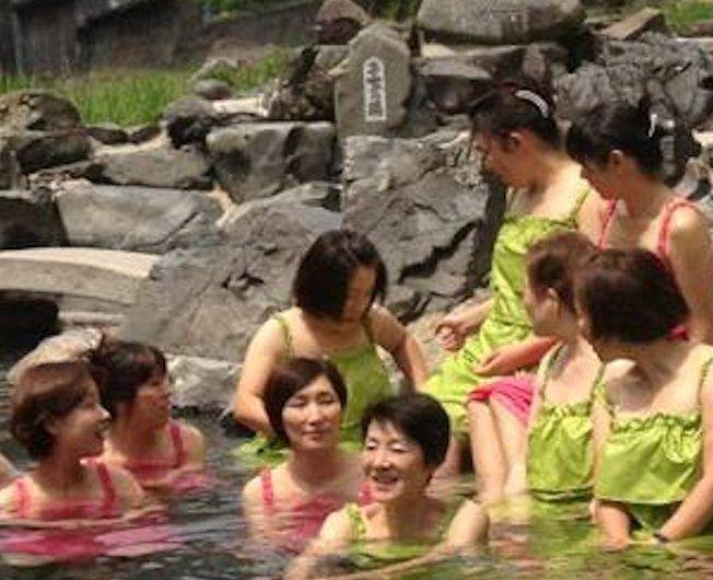 湯原温泉の新湯浴み着